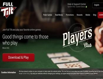 FullTilt.com Homepage