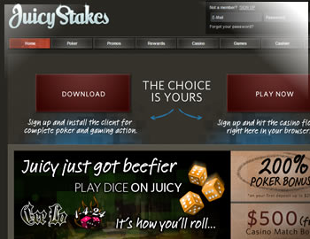 Juicy Stakes $1000 Bonus
