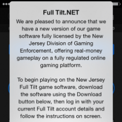 Full Tilt Licensed And Launching Soon In New Jersey, Maybe!