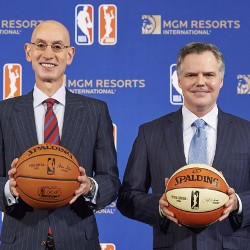 MGM Resorts and NBA Ink 'Gaming Partner' Deal to Share Official Data