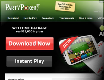 Party Poker $500 Bonus